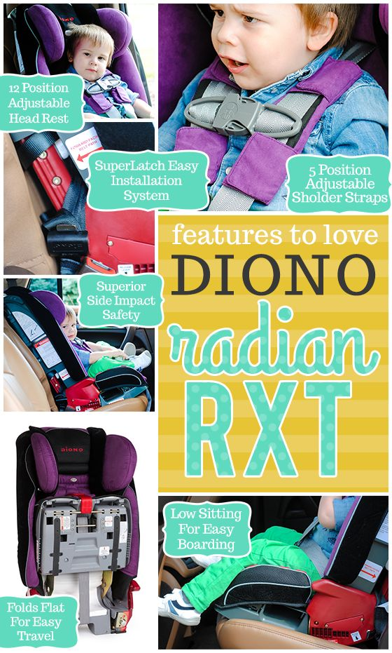 Daily Mom » Car Seat Guide: Diono Radian RXT