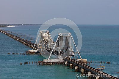Pamban Bridge by Jamesadaickalsamy, via Dreamstime