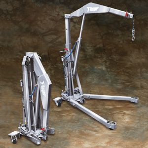 Ruger Industries - Foldable Stainless Steel Floor Crane