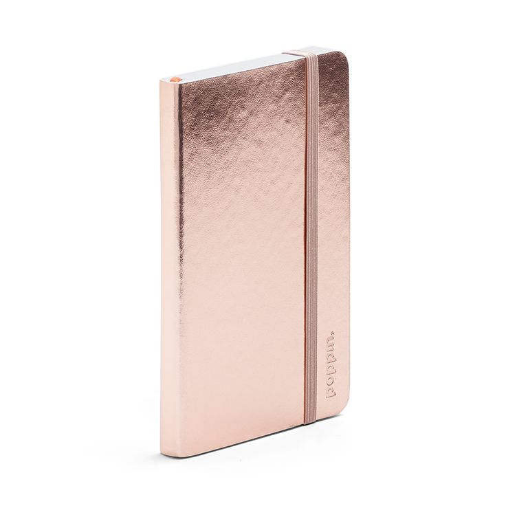 Copper Small Soft Cover Notebook | Notebooks & Journals | Poppin #metallic #copper #workhappy