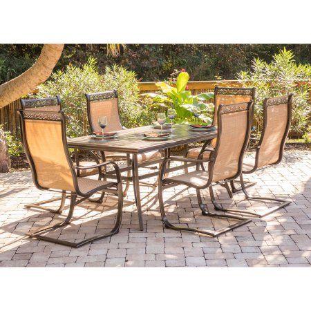 Brilliant Patio Garden Outdoor Dining Set Outdoor Dining 7 Piece Frankydiablos Diy Chair Ideas Frankydiabloscom