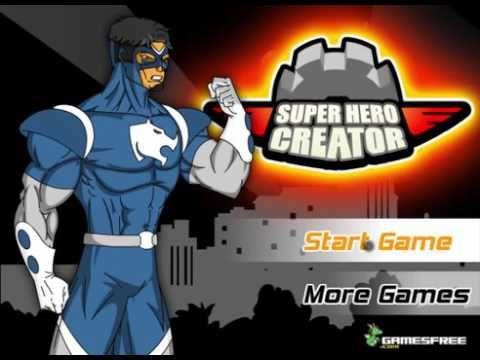 Super Hero Creator - Action Games -  Super Heroes Games