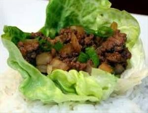 Super Easy Asian Lettuce Wraps - could add to this...