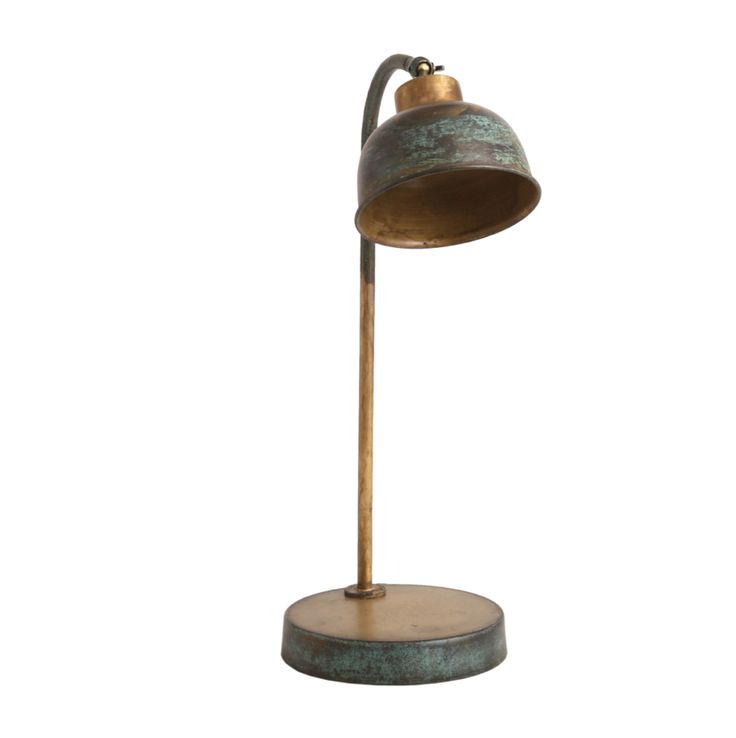 PTMD Duncan Iron Gold 2tone Studio desk lamp