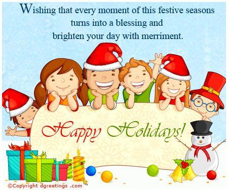 Dgreetings - Happy Holidays Card