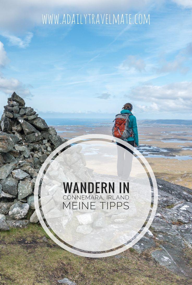 Meine Tipps und Tourenvorschäge zum Wandern in Connemara, Irland #irland #connemara #wandern #irlandreise #wanderninirland