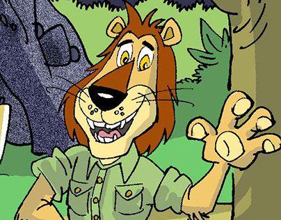 "Check out new work on my @Behance portfolio: ""aslan max'ın maceraları""…"