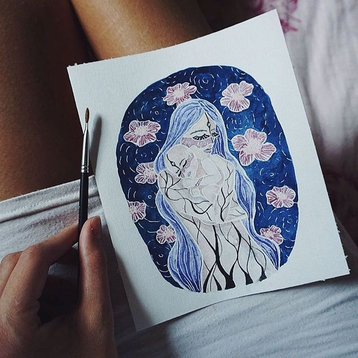Why we are not born such we try to be every day? Why we are not born with pink hair, a tattoo on our skin, with the perfect smoky-eyes or with lips color of wine? 🌸 #atomorfen_illustration Почему мы не рождаемся такими, в кого каждый день себя преображаем? Почему мы не рождаемся с розовыми волосами, с тату на нашей коже, с идеальным smoky-eyes или губами цвета вина?