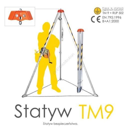 STATYW BEZPIECZEŃSTWA TM9 - INTERNETOWY SKLEP BHP - artykuły i sprzęt bhp, odzież robocza, środki ochrony indywidualnej
