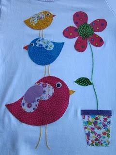 Camiseta patchwork infantil