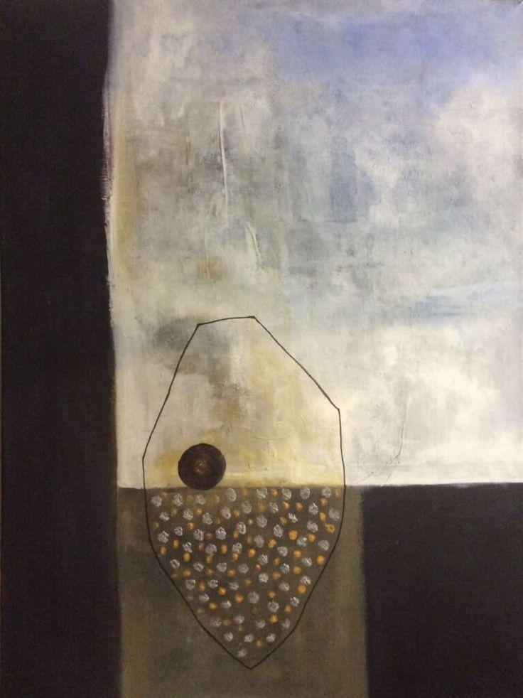 Abstrakt maleri by Maleen Rosel