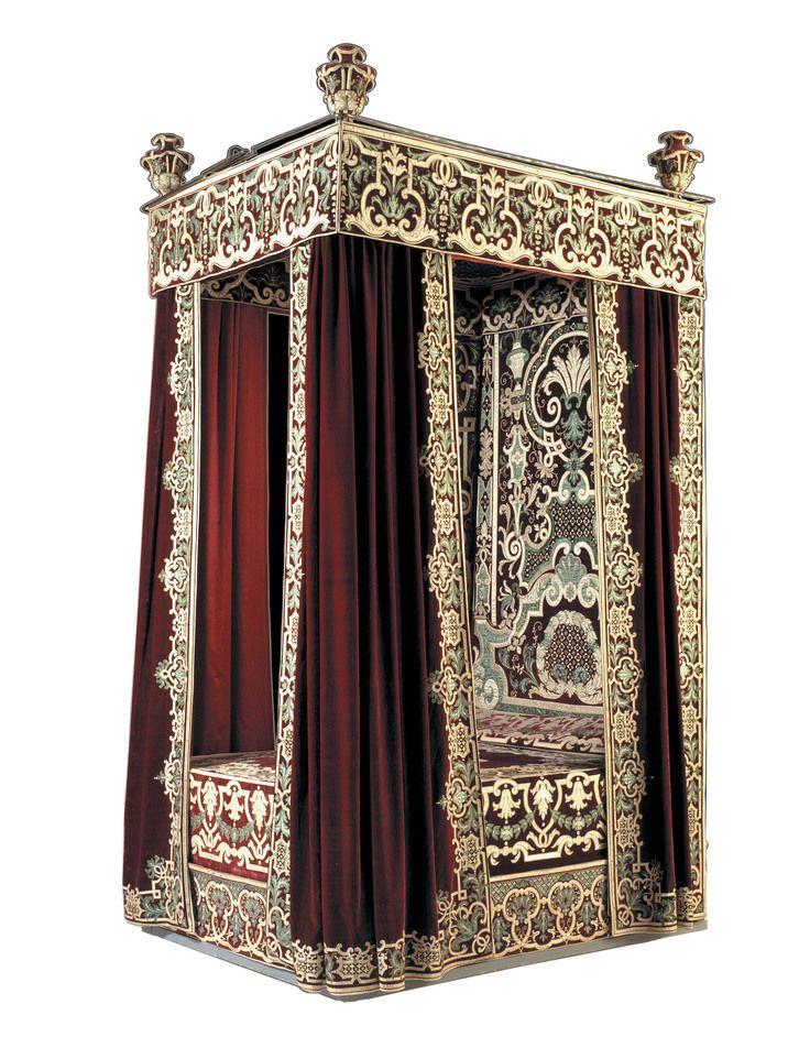 176 besten historische betten bilder auf pinterest. Black Bedroom Furniture Sets. Home Design Ideas