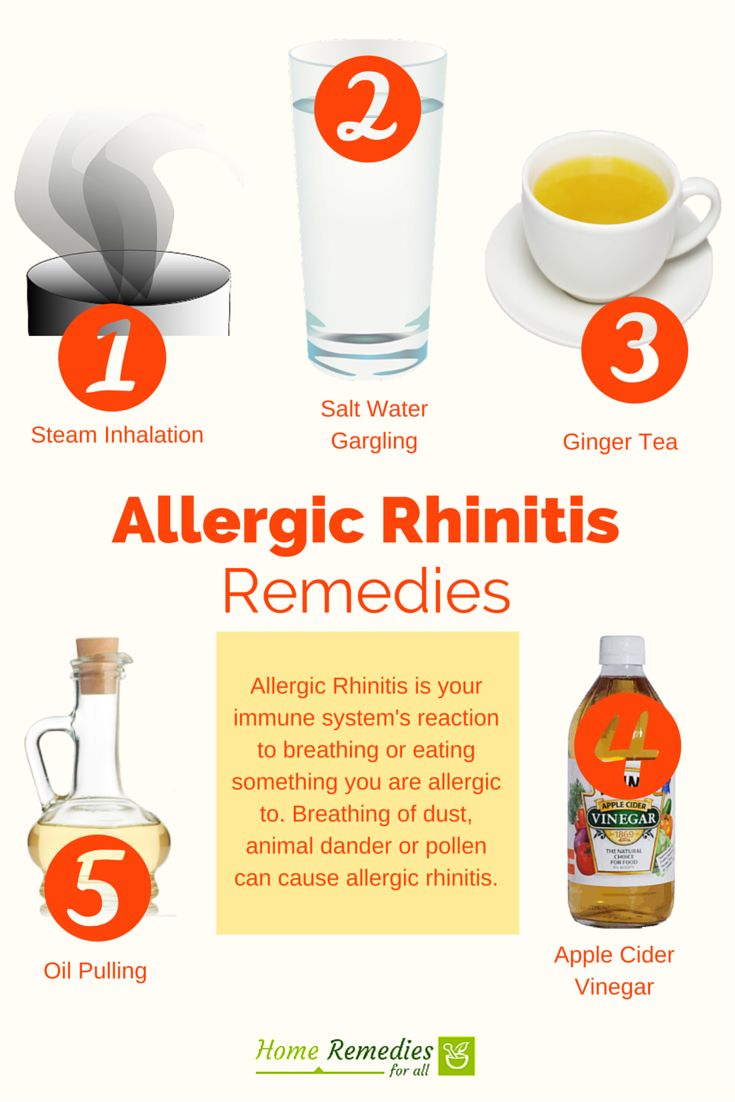 Natural Ways To Get Rid Of Allergic Rhinitis