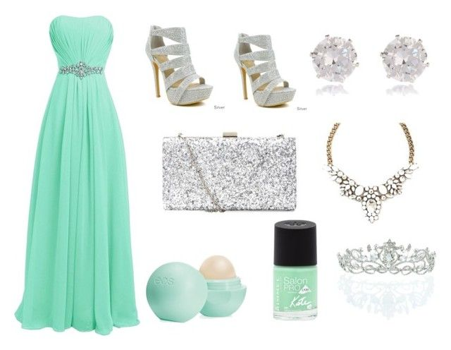 """Prom"" by grace10-2 on Polyvore featuring Celeste, River Island, Eos, Rimmel and Kate Marie"