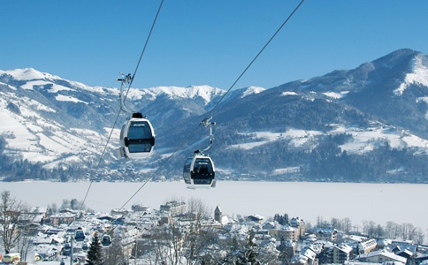 Zell am See In 1992 or so. Even i went skiing. Fantastic plance!