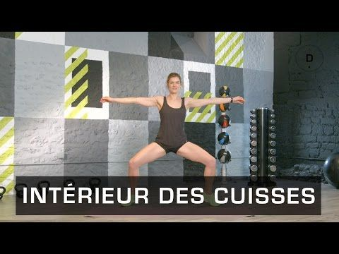Fitness Master Class - Intérieur des cuisses - Lucile Woodward - YouTube