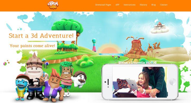 Crea y aprende con Laura: @Chromville App. App juego de realidad aumentada con d...