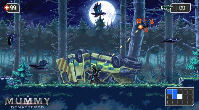 (adsbygoogle = window.adsbygoogle || []).push();      	 	     [X]     (adsbygoogle = window.adsbygoogle || []).push();     WayForward has launched a teaser trailer for The Mummy: Demastered. The Mummy: Demastered is a 16-bit-inspired 2D nonlinear, action-packed...