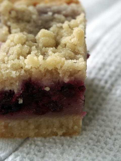 Blackberry Pie Bars... stop, just stop. I'd add oats to the crust and ...