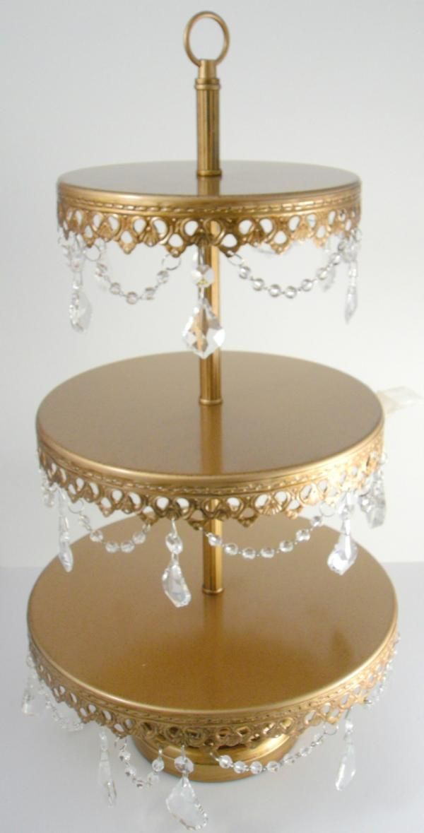 diy 3 tier wedding cake stand the 25 best gold cupcake stand ideas on cheap 13603
