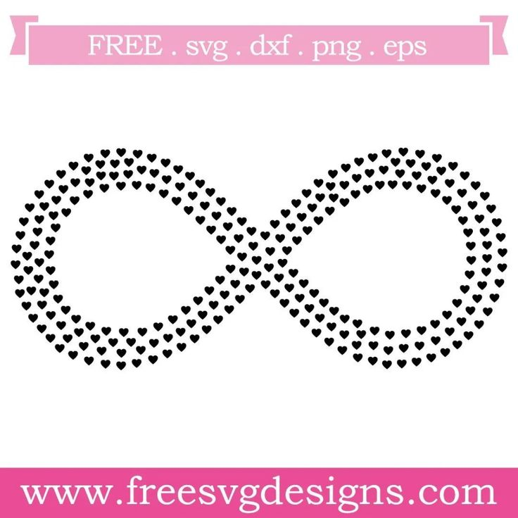 Download Infinity Love Hearts Free SVG Files 997 (With images ...