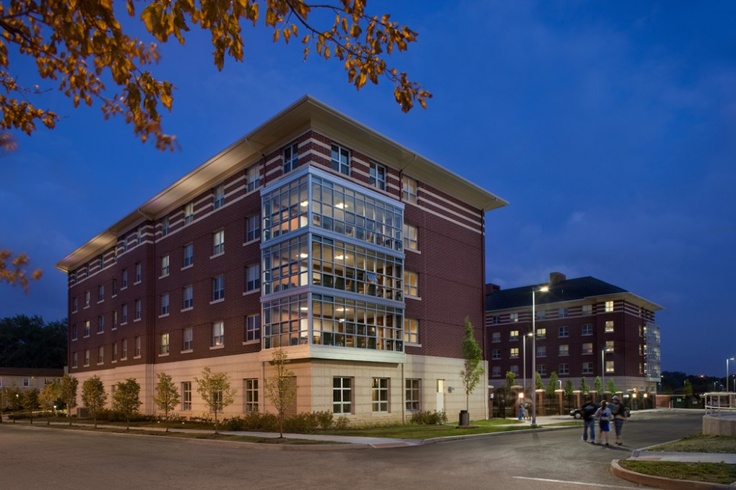 Spicer Residence Hall (My future home~!)