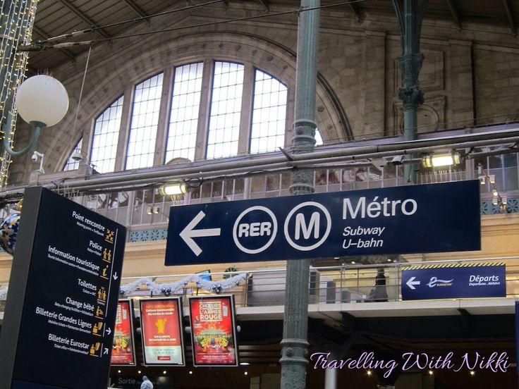 Eurostar from London to Paris, RER from Paris to Disneyland