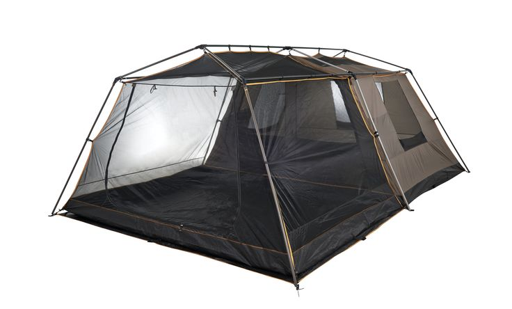 Fish Eagle Frame tent. It Opens up to the size: 520 x 350 x 205 cm High.. sleeps a max of 4 People Inner Tent water resistant  Inner mesh 50 x 50cm Includes mesh dinner and side and front detachable side panels. An the best part its easy to transport