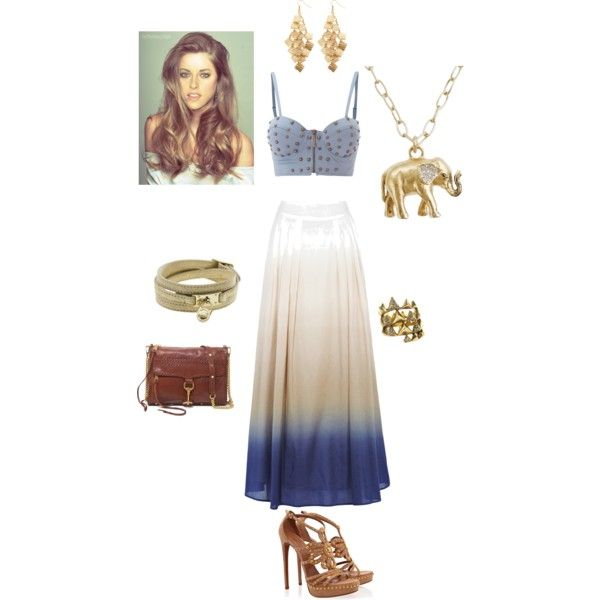 Trend Watch Bustier w/Maxi Skirt, created by closetshoefetish on Polyvore: Watch Bustier, Bustier W Maxi, Lady Styles, W Maxi Skirt, Maxi Skirts