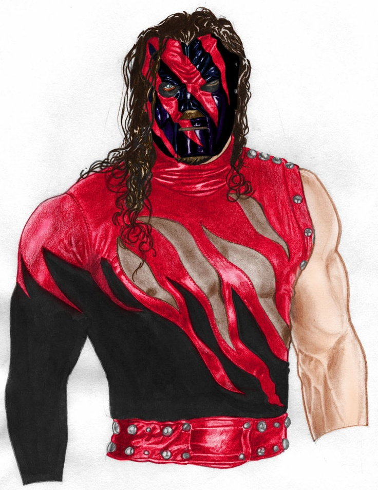 That is how Kane should look in the wwe today.