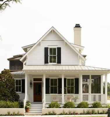 I love the porch :) future-home