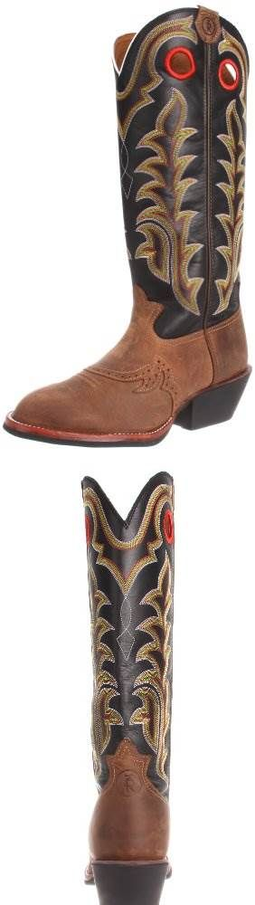 Tony Lama Boots Mens RR1002 Boot: i Have been wearing this style , buckaroo Tony Lama boots for many years.  I have had 8 pairs that I can remember.  They fit great, last forever look good, and you don't need to break them in.  I won't buy another kind. #SHOES