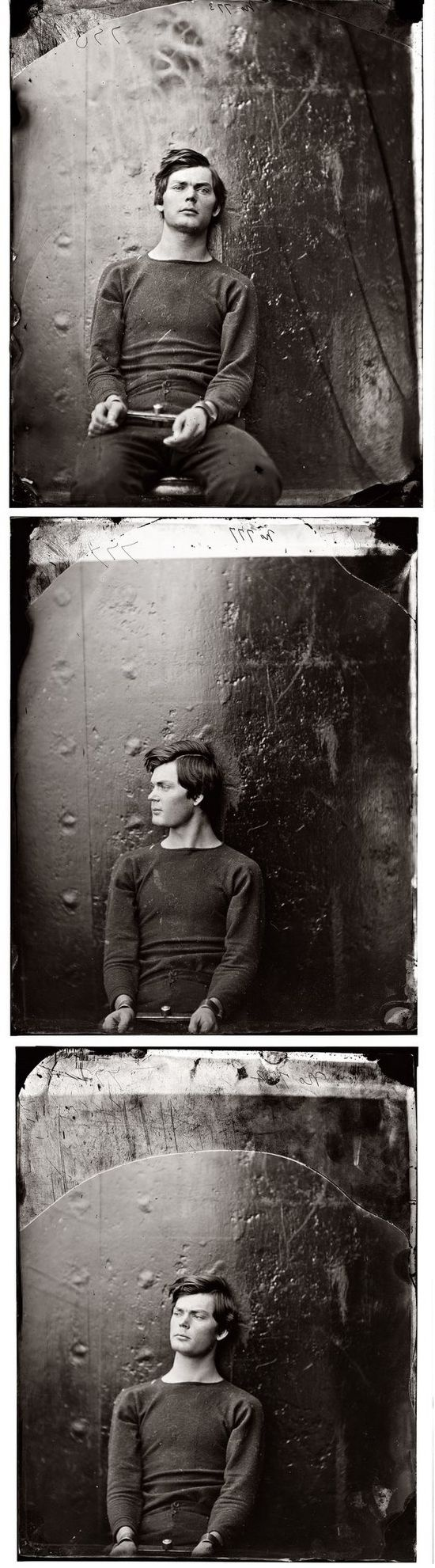 Too bad he tried to kill someone. He's hot!!  Lewis Powell by Alexander Gardner 1865