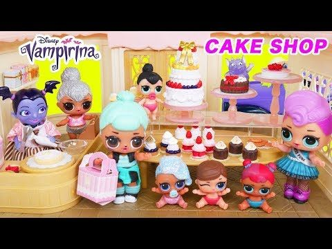 a76228acedf Shimmer and Shine LOL Surprise Big Surprise Dolls Ice Cream Park, Lil  Sisters Glitter Series Heads! - YouTube