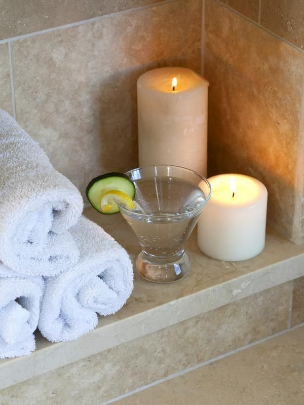 Sit Back & Relax The candles have been lit, the food's been prepped, the cucumber cooler has been poured, and the roses are perfectly placed. Now it's time to sit back, relax and enjoy this stress-free spa date with the one you love.