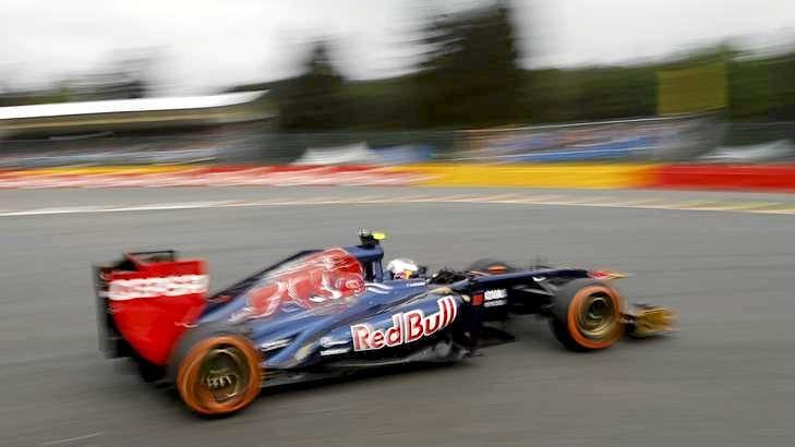 Daniel Ricciardo joins Red Bull Racing.