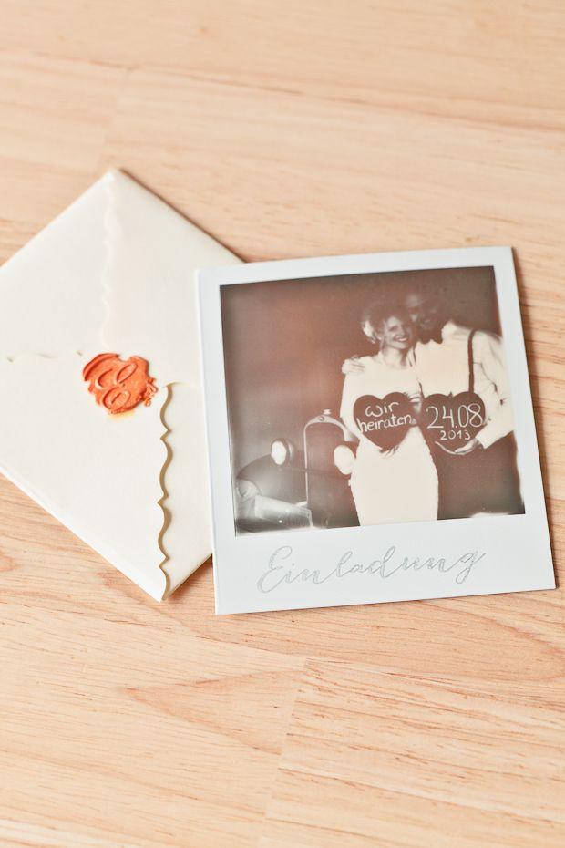 Ber ideen zu einladungstext auf pinterest - Polaroid karten ...