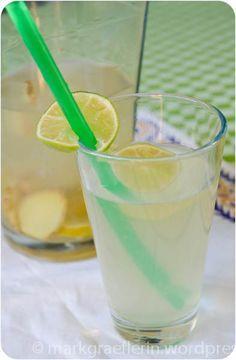 Hugo alkoholfrei: Ingwer-Limetten-Drink