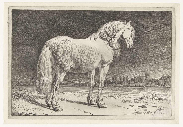 Het Friese paard, Paulus Potter, 1652