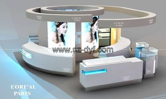 Cosmetic Exhibition Stand Design : Best kiosks and carts specialty retail images on