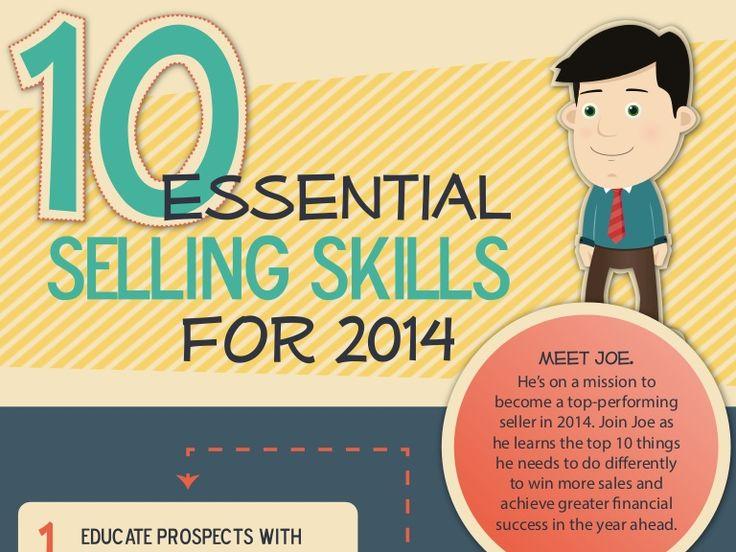 10-essential-selling-skills-for-2014 by RAIN Group via Slideshare #sellingskills