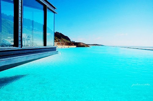 House on Water in Ibiza, Spain