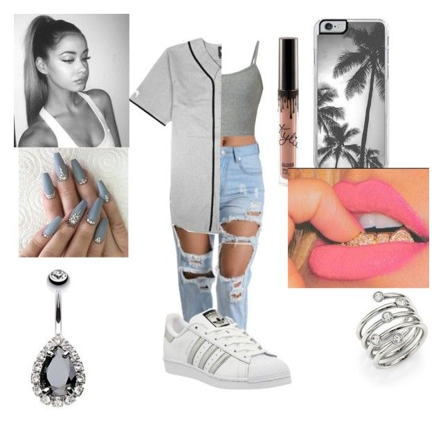"""""""Untitled #77"""" by colbertchristinee on Polyvore featuring Stussy, adidas, Zero Gravity and Michael Kors"""