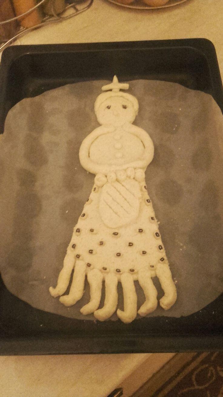 Η κυρά -Σαρακοστή /kira- sarakosti une coutume qui précède de la pâques,fait maison par ma nièce.