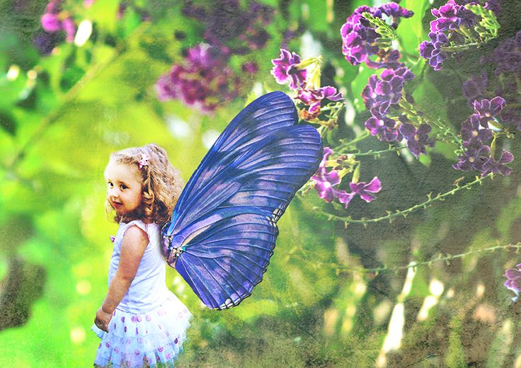 Butterfly Girl - by Storm Photography