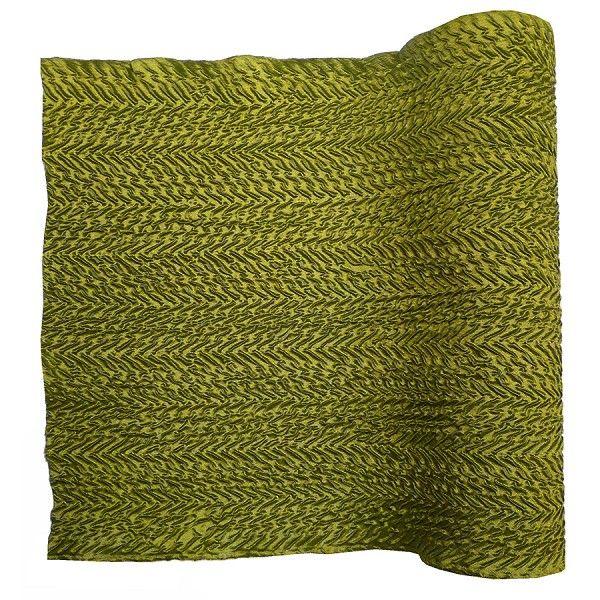 #Tischläufer Crush grün für Deine perfekte #Tischdeko: http://www.trendmarkt24.de/tischlaeufer-crush-gruen-rolle-29cm-breit-25m-lang.html#p