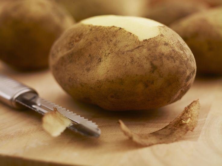 You've Been Peeling Potatoes Wrong This Whole Time