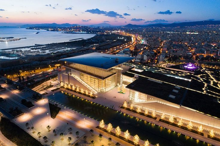 SNF Invites Greek State to Accept Delivery of the Stavros Niarchos Foundation Cultural Center.