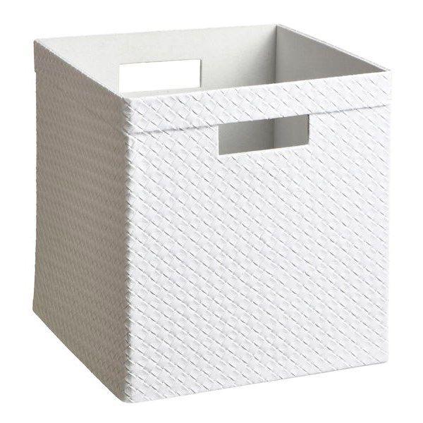 Förvaringsbox Alex 27x27x28 cm Vit - Småförvaring - Rusta