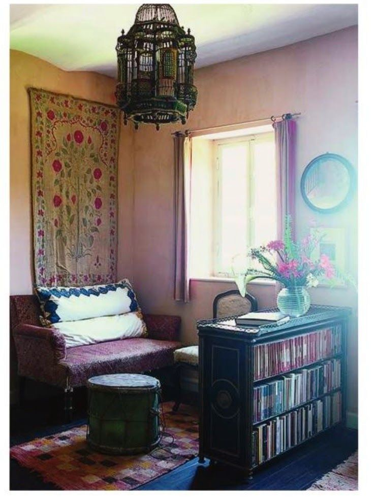Christopher Gibbs' house, Tangier. World of Interiors, October 2011. Photography by Christopher Simon Sykes.
